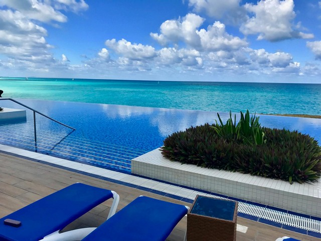 Infinity Pool at Ocean Vista Azul 5-Star Resort in Varadero