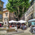 Aix en Provence in France by Patti Maghamfar