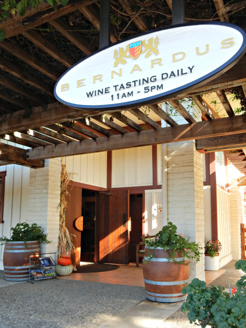 Best Wine Tasting - Bernardus in Carmel Valley, California.