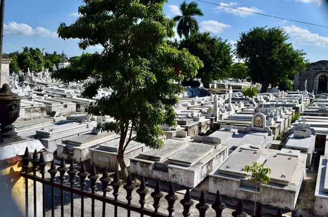 Cemetery in Cuba