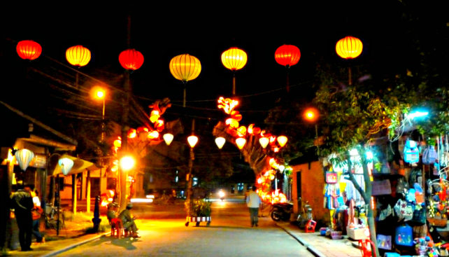 Hoi An in Vietnam by Viv Chapleo