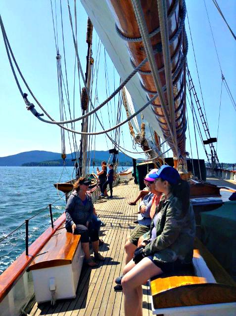 Best Women-Only Adventure - Schooner Zodiac Nauti-Gals Sailing Weekend.
