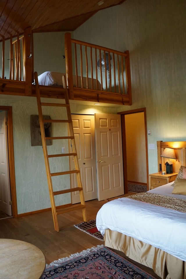 Guest Room with Loft in Lookout Lodge at Echo Valley Ranch