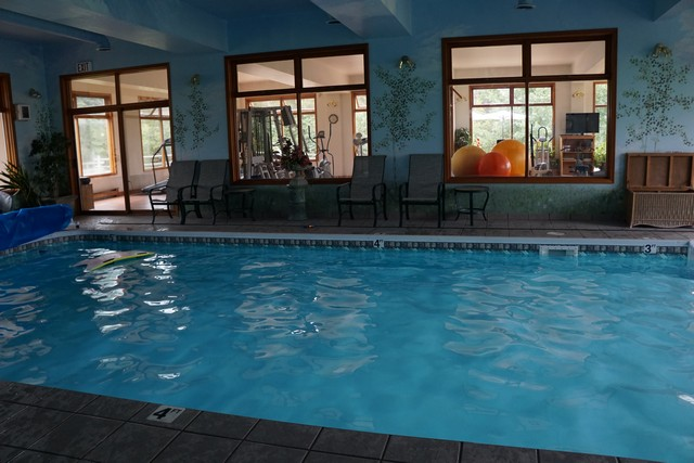 Swimming Pool in Cariboo Spa at Echo Valley Ranch