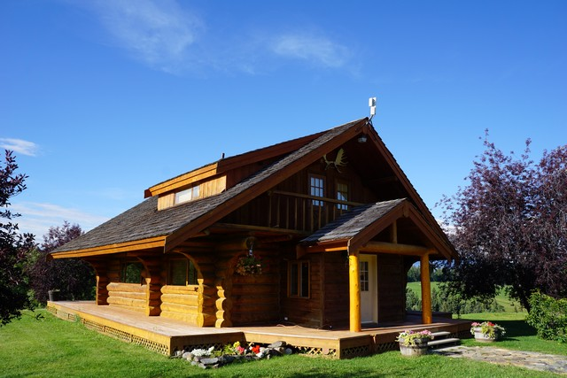 Log Cabin at Echo Valley Ranch
