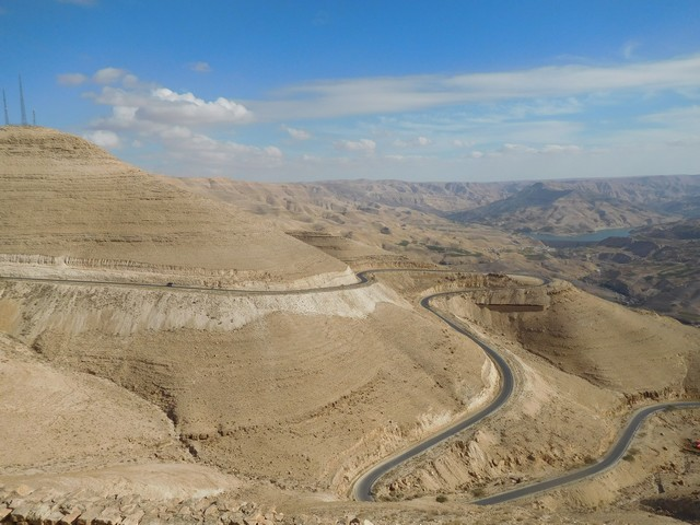Jordan's Grand Canyon on the Way to the Dead Sea