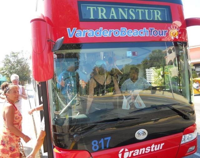 Varadero Town Double Decker Tour Bus