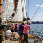 San Juan Sailing on Schooner Zodiac's Nauti-Gals Women's Sailing Adventure