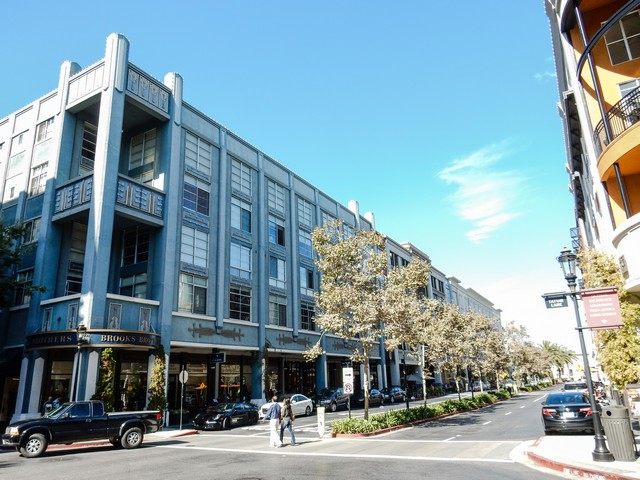 Santana Row in San Jose, California