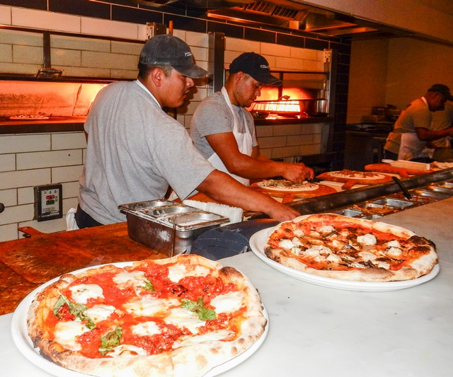 Pizza Antica at Santana Row