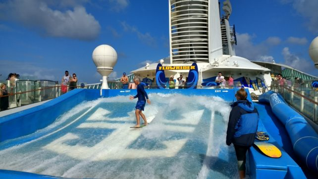 Flow Rider on Navigator of the Seas
