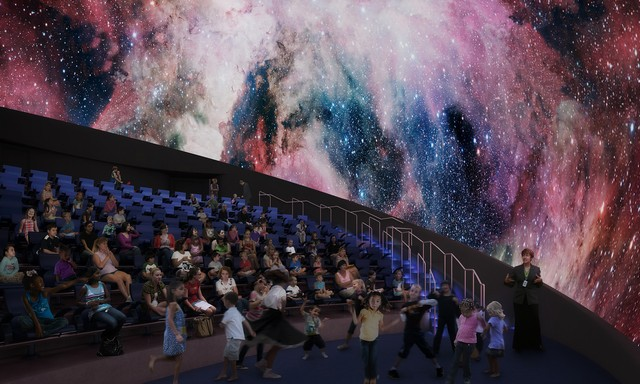 Frost Planetarium Interior at Phillip and Patricia Frost Museum of Science