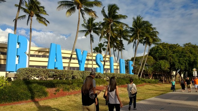 Bayside Park in Miami