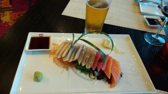 Sushi at Izumi on Navigator of the Seas