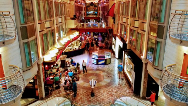 Royal Promenade on Navigator of the Seas