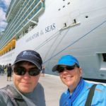 Viv and Jill - Navigator of the Seas in Labadee, Haiti