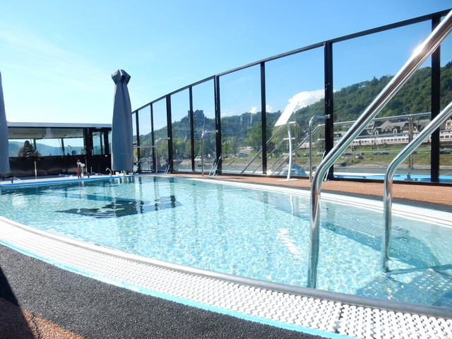 Heated Swimming Pool on AmaPrima