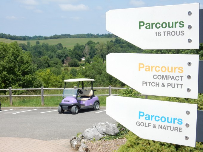 Golf at EcoGolf in Ariege