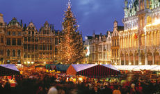 Brussels Christmas Market in Belgium