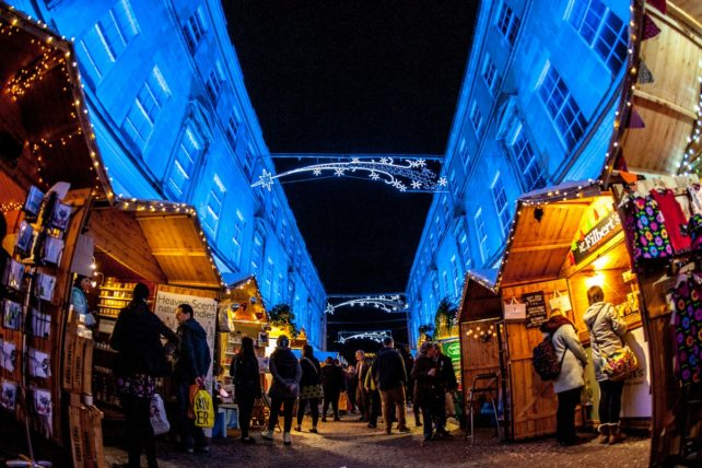 Bath Christmas Market in England