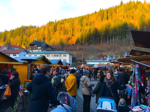 St Blasien Christmas Market in Germany