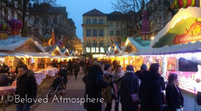 metz christmas market in france - France Christmas
