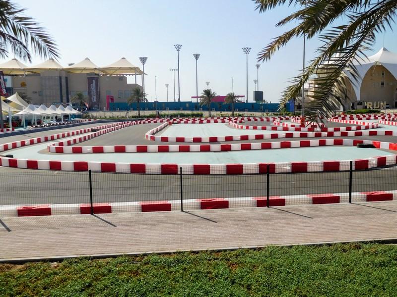 Yas Island Race Track in Abu Dhabi