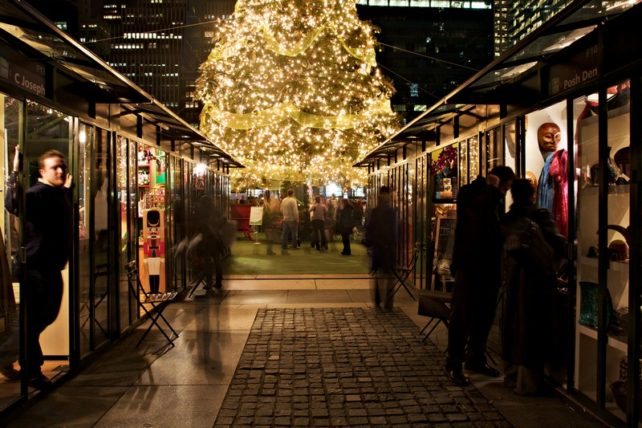 New York City Holiday Markets