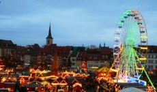 Erfurt Christmas Market in Germany