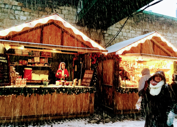 Toronto Historic Distillery District Christmas Market