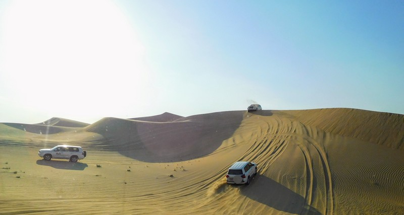 Dune-bashing and a Taste of the Bedouin Heritage
