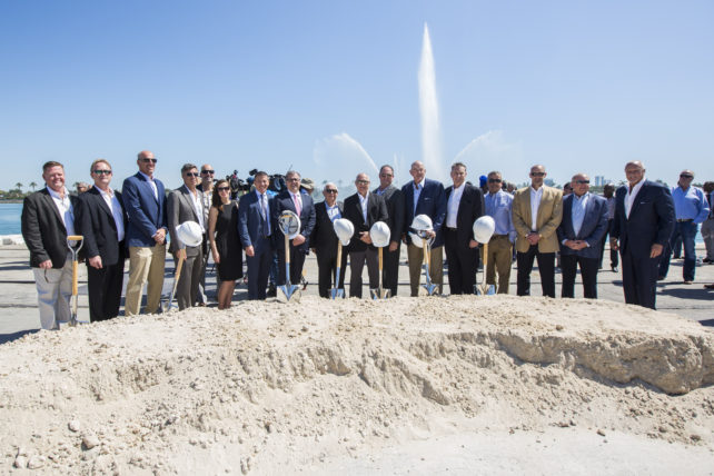 Groundbreaking Ceremony at PortMiami for Norwegian Cruise Line New Terminal