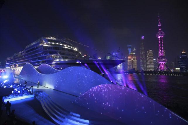 Cruise News: Viking Sun Named in Shanghai