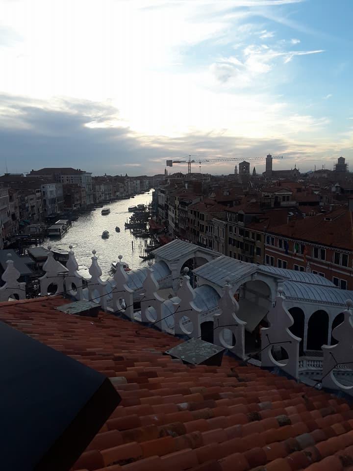 Fondaco dei Tedeschi - view from rooftop terrace.