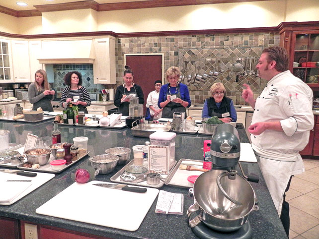 The L`ecole de la Maison Cooking School in Elkhart Lake Wisconsin