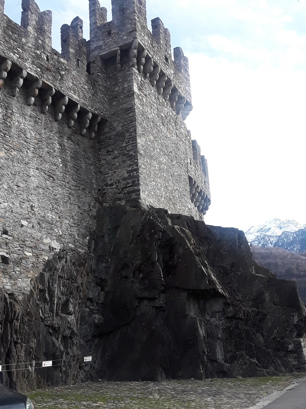 Castle fortress of Bellinzona