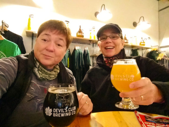 Devil's Club Brewing Co. in Juneau, Alaska