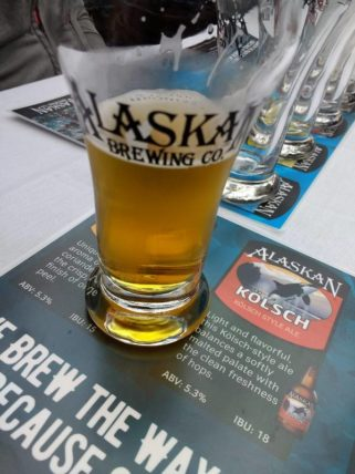 Alaskan Kolsch - a light and flavorful German kolsch-style ale.