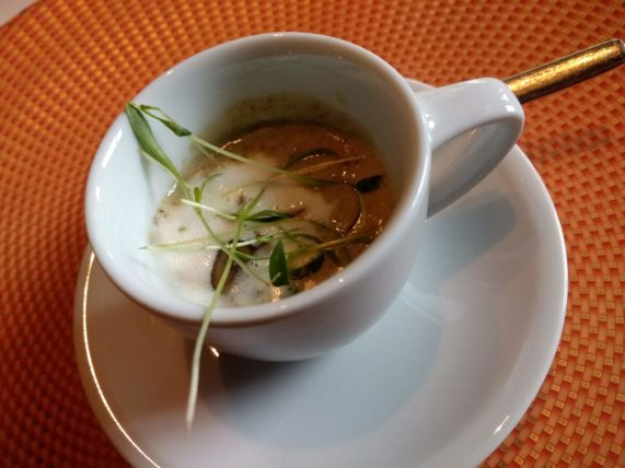 Pinnacle Grill Chef's Mouthwatering Mushroom Amuse Bouche