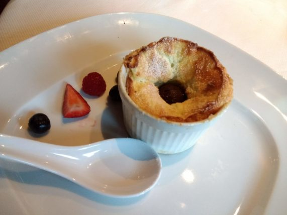 Pinnacle Grill Vanilla Souffle