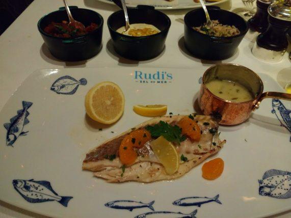 Rudi's Sel de Mer - Salt crusted Branzino