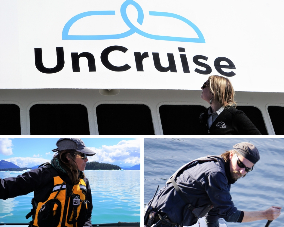 UnCruise Adventures Safari Endeavour Crew
