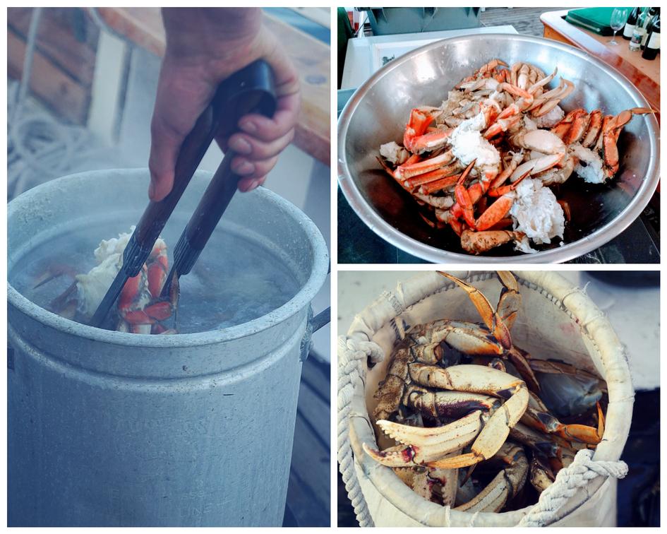 After Dinner Crab Snack