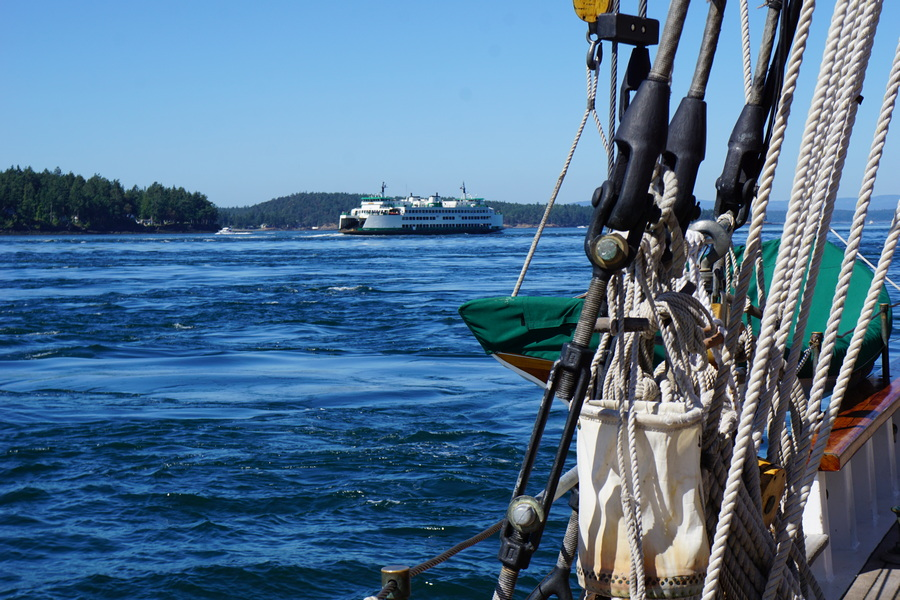 Ferry in San Juan Islands
