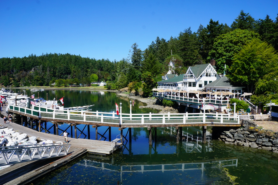 Roche Harbor on San Juan Island