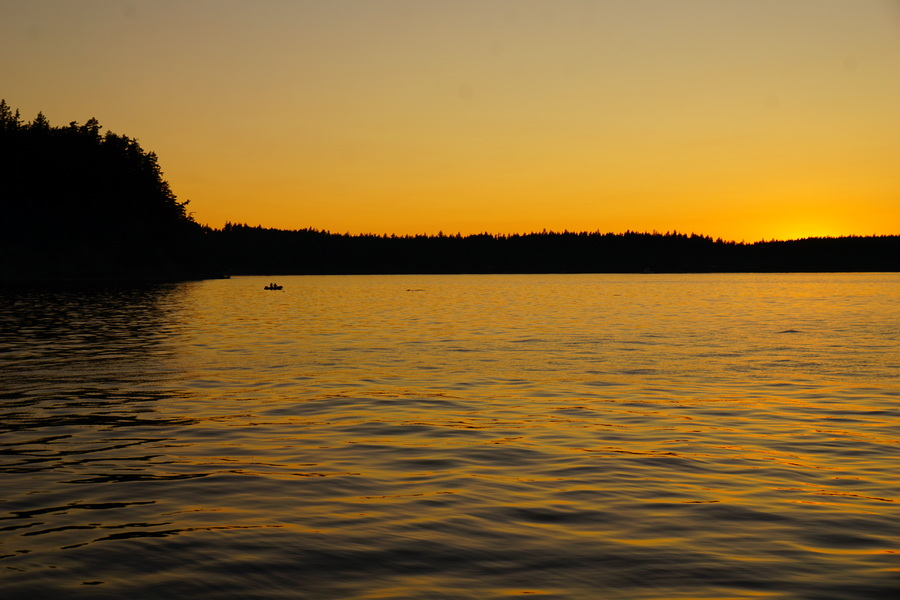 Splendid San Juan Archipelago Sunset