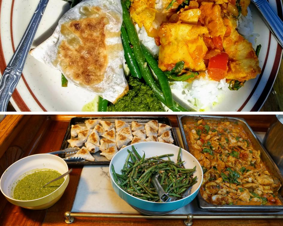 Lunch - Goan Fish Curry