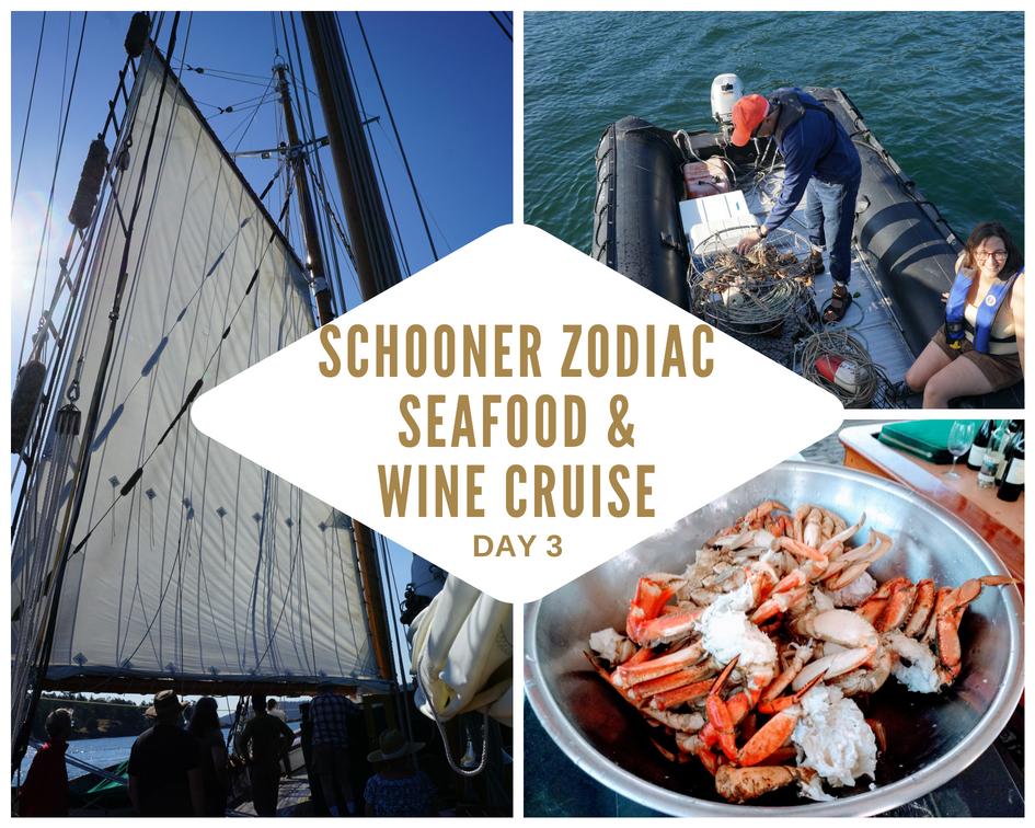 Schooner Zodiac San Juan Islands Seafood and Wine Cruise - Day 3