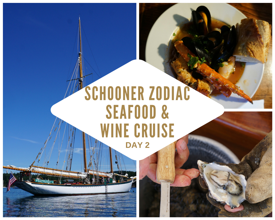 Schooner Zodiac San Juan Islands Seafood and Wine Cruise - Day 2