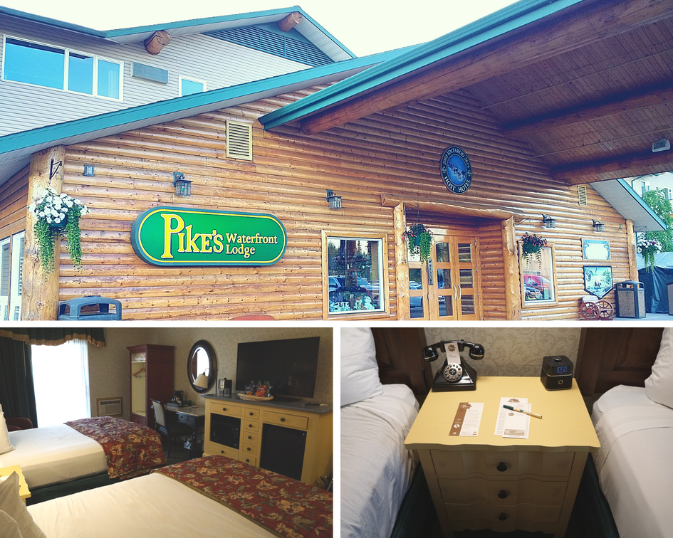 Pike's Waterfront Lodge on the Chena River